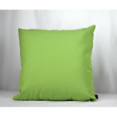 Cueto Grass is Greener Sunbrella Indoor/Outdoor Throw Pillow Pillow Cover Color: Green