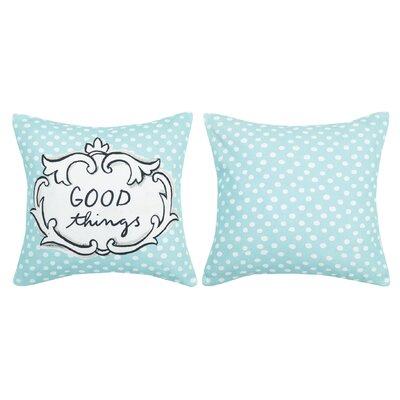 Good Things Cotton Throw Pillow
