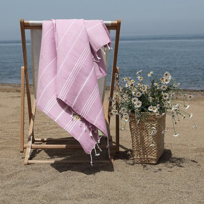 Prado Palm Tree Pestemal Beach Towel Color: Lilac