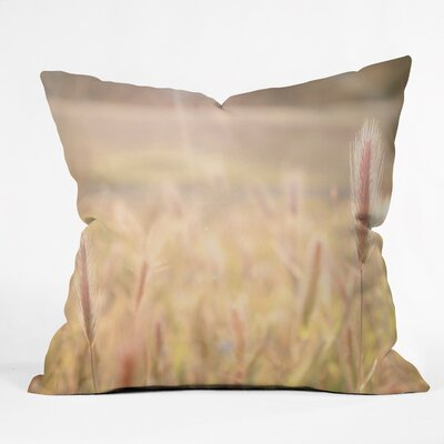 Bree Madden Wheat Fields Throw Pillow Size: 20 x 20