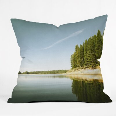 Bree Madden Down By The Lake Throw Pillow Size: 26 x 26