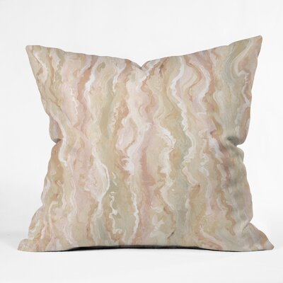 Lisa Argyropoulos Desert Melt Throw Pillow Size: 26 x 26