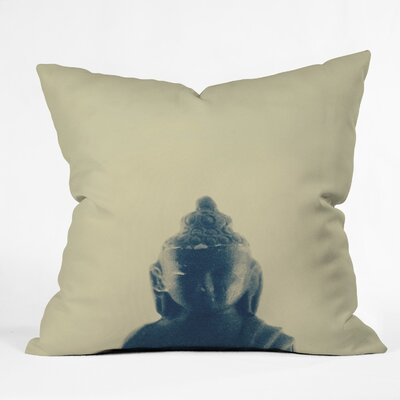 Krista Glavich Buddha Throw Pillow Size: 18 x 18