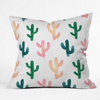 Emanuela Carratoni Desert Throw Pillow Size: 16 x 16