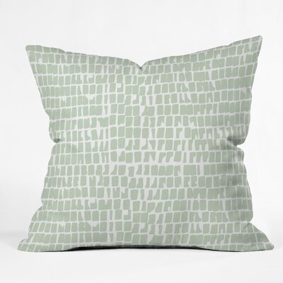Iveta Abolina Cobbler Sage Throw Pillow Size: 16 x 16