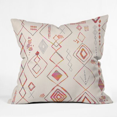 Iveta Abolina Tangier Villa Throw Pillow Size: 16 x 16