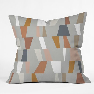 The Old Art Studio Geometric Throw Pillow Size: 16 x 16