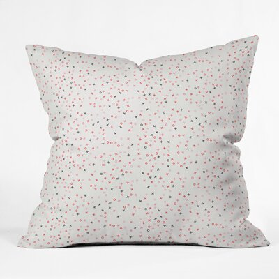 Little Arrow Hugs and Kisses XO Throw Pillow Size: 18 x 18