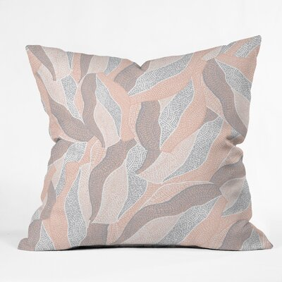 Gabriela Fuente Naya Throw Pillow Size: 18 x 18