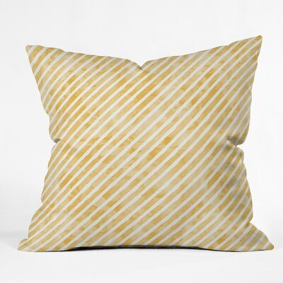 Little Arrow Stripes Throw Pillow Size: 18 x 18