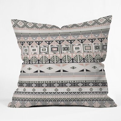 Fimbis Geometric Aztec Throw Pillow Size: 16 x 16