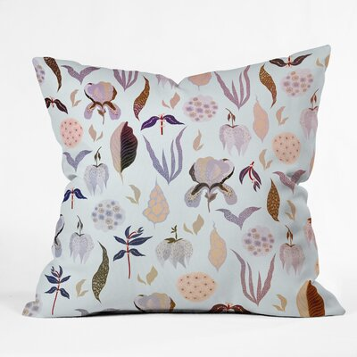 Iveta Abolina Ethel Garden Throw Pillow Size: 18 x 18