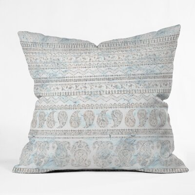 Schatzi Bodhi Paisley Sandy Throw Pillow Size: 18 x 18
