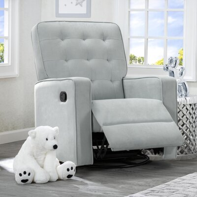Gavin Nursery Manual Swivel Glider Recliner Color: Mist