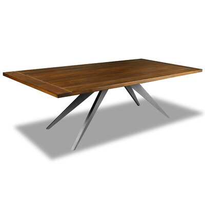 Macaulay Dining Table Color: Cognac, Size: 30 H x 72 W x 72 D