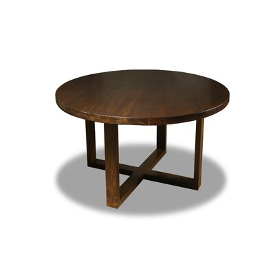 Nusbaum Dining Table Color: Walnut, Size: 30 H x 54 W x 54 D