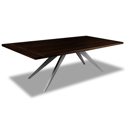 Macaulay Dining Table Color: Cement, Size: 30 H x 72 W x 72 D