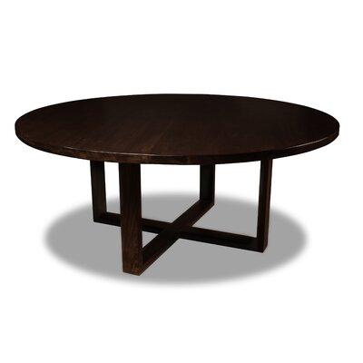 Nusbaum Dining Table Color: Cognac, Size: 30 H x 72 W x 72 D