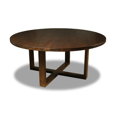 Nusbaum Dining Table Color: Walnut, Size: 30 H x 60 W x 60 D