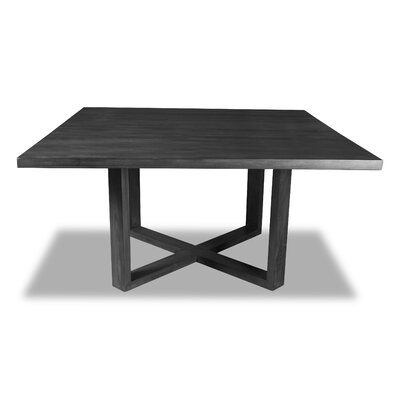 Nusbaum Dining Table Color: Cement, Size: 30 H x 60 W x 60 D