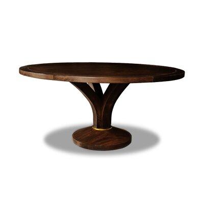 Paschke Dining Table Color: Cognac, Size: 30 H x 72 W x 72 D