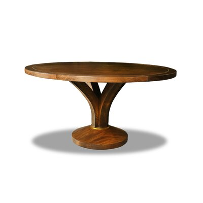 Paschke Dining Table Color: Walnut, Size: 30 H x 60 W x 60 D