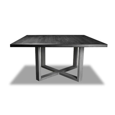 Nuno Dining Table Color: Cement, Size: 30 H x 72 W x 72 D