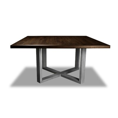 Nuno Dining Table Color: Cognac, Size: 30 H x 60 W x 60 D