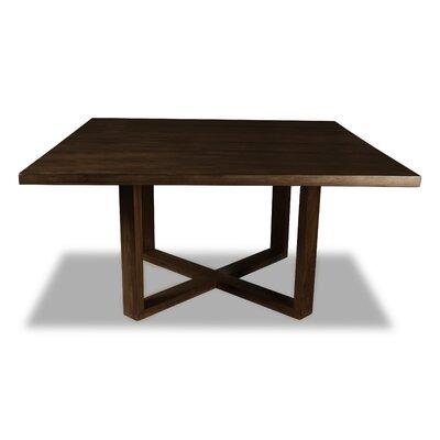 Nusbaum Dining Table Color: Cognac, Size: 30 H x 60 W x 60 D