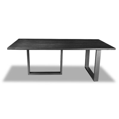 Macdonald Dining Table Color: Cement, Size: 30 H x 72 W x 72 D