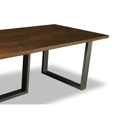 Macdonald Dining Table Color: Walnut, Size: 30 H x 96 W x 96 D