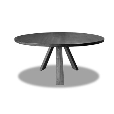 Nunley Dining Table Color: Gray, Size: 30 H x 72 W x 72 D