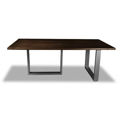 Macdonald Dining Table Color: Cognac, Size: 30 H x 84 W x 84 D