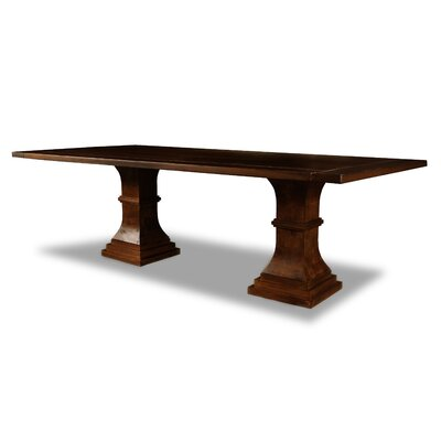 Pascarella Dining Table Color: Cognac, Size: 30 H x 96 W x 96 D