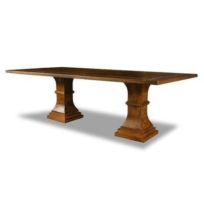 Pascarella Dining Table Color: Walnut, Size: 30 H x 96 W x 96 D