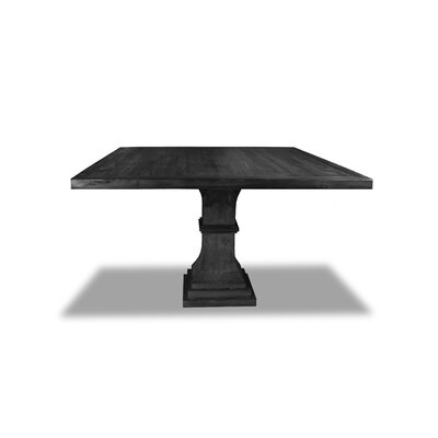 Pascarella Dining Table Color: Cement, Size: 30 H x 72 W x 72 D