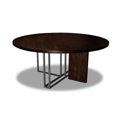 Macdougal Dining Table Color: Cognac, Size: 30 H x 72 W x 72 D