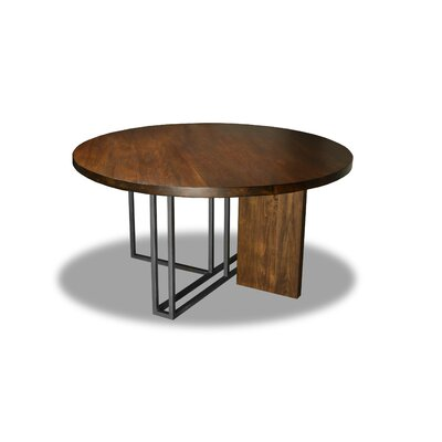 Macdougal Dining Table Color: Walnut, Size: 30 H x 54 W x 54 D