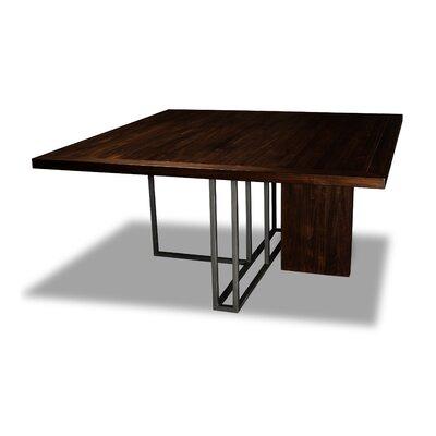 Macdougal Dining Table Color: Cognac, Size: 30 H x 60 W x 60 D