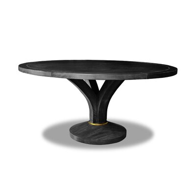 Paschke Dining Table Color: Cement, Size: 30 H x 72 W x 72 D