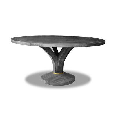 Paschke Dining Table Color: Gray, Size: 30 H x 72 W x 72 D