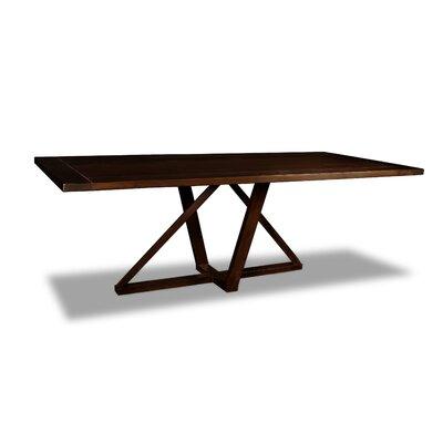 Nuss Dining Table Color: Cognac, Size: 30 H x 96 W x 40 D