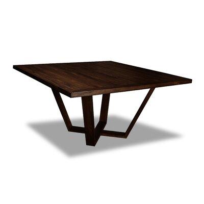 Macarthur Dining Table Color: Cognac, Size: 30 H x 60 W x 60 D