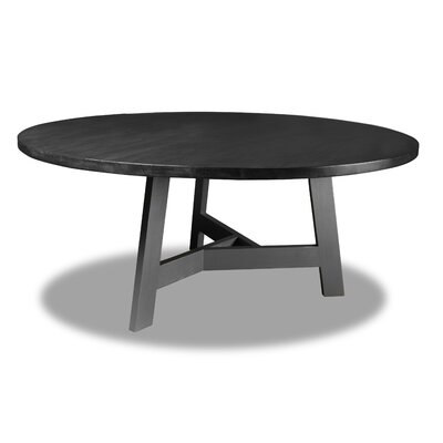 Malinowski Dining Table Color: Cement, Size: 30 H x 72 W x 72 D