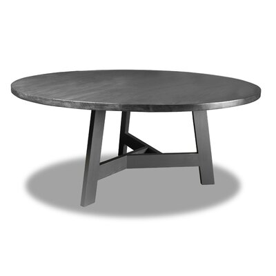 Malinowski Dining Table Color: Gray, Size: 30 H x 72 W x 72 D