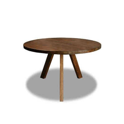 Mach Dining Table Color: Walnut, Size: 30 H x 48 W x 48 D