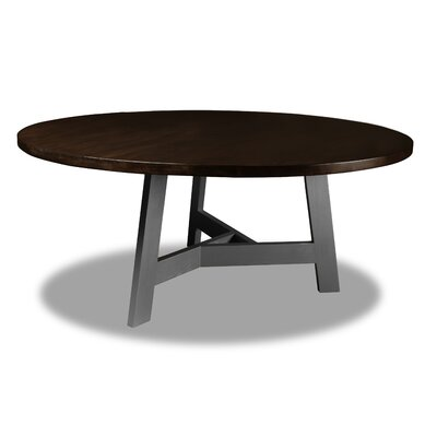 Malinowski Dining Table Color: Cognac, Size: 30 H x 72 W x 72 D