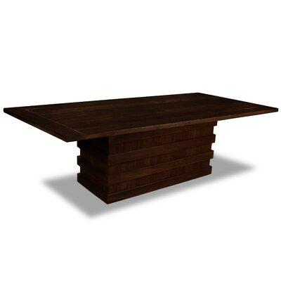 Macfarlane Dining Table Color: Cognac, Size: 30 H x 96 W x 96 D