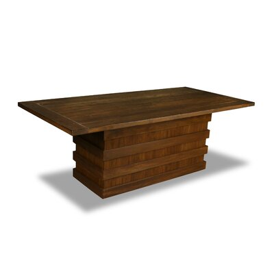 Macfarlane Dining Table Color: Walnut, Size: 30 H x 84 W x 84 D