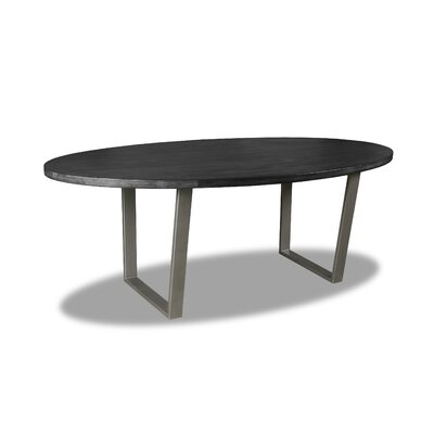 Maliana Dining Table Color: Cement, Size: 30 H x 84 W x 84 D